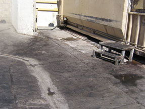 Pressure Washing Surface Cleaning Oil Removal
