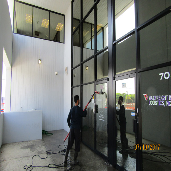 Window Cleaning Irvine Commercial
